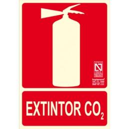 SEÑAL 1007 EXTINTOR DE CO2