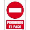 SEÑAL 1020 PROHIBIDO EL PASO SEÑAL